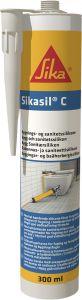 Silikoonhermeetik Sikasil- C 300 ml, valge