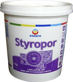 Laeplaatide liim Styropor Eskaro 1 kg