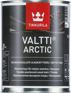 Tikkurila Valtti Arctic - pärlmutter puidupeits  0,9 l