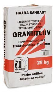 Graniitliiv 2 - 6 mm 25 kg