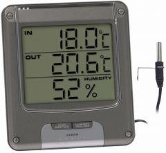 Digitaalne termomeeter Hopeanharmaa
