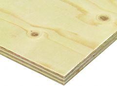 Kõrgendatud niiskuskindlusega vineer 4 x 1220 x 2440 mm