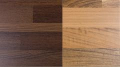 Dekoratiivne taustaplaat Walnut Block/WoodmiX Wenge