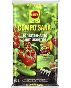 Tomati ja köögiviljamuld Compo 20 l