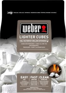 Süütekuubikud Weber 22 tk