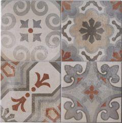 Seina-/põrandaplaat Cementina Mix Rosso