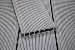 Terrassilaud WPC 25 x 140 x 2700 mm, hall harjatud
