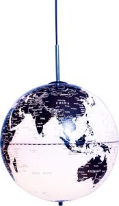 Rippvalgusti Globe the World Ø 30 cm