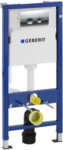 Seinapealse WC-poti loputussüsteem Geberit Duofix Basic