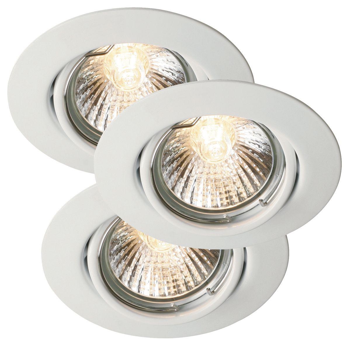 Süvistatavad valgustid Nordlux Triton 3 tk/pakk