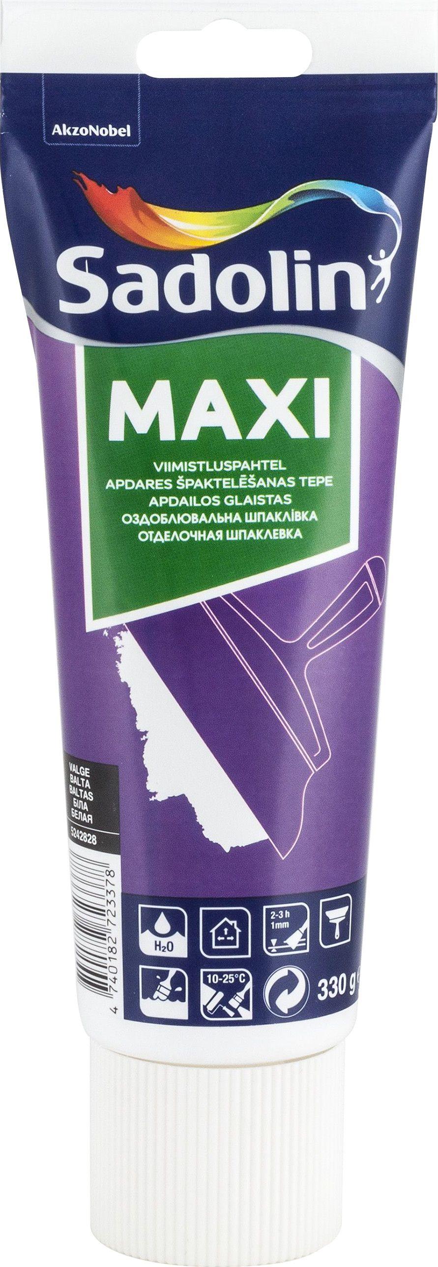 Viimistluspahtel Maxi, valge 330 g