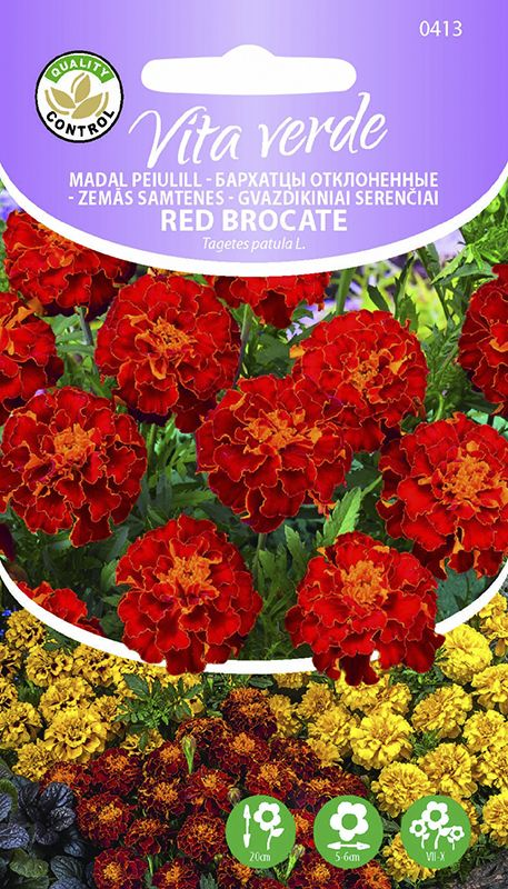 Madal peiulill Red Brocate