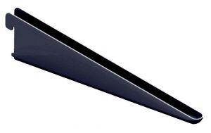 Riiulikandur Element System U-kujuline must 17 cm