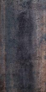 Põrandaplaat Metallic must 30 x 60 cm