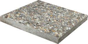 Sillutuskivi plaat kivikattega 40 x 40 x 4 cm