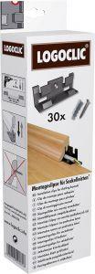 Põrandaliistu kinnitusklambrid Logoclic 30 tk/pakk