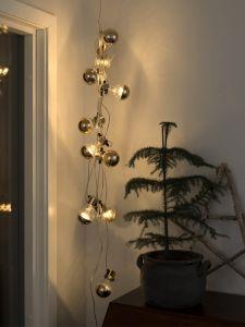 LED-valguskett Kuldne