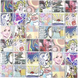 Mosaiik Quadrat Mix CG POP 30 x 30 cm