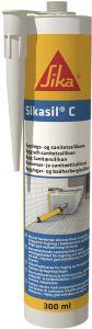 Silikoonhermeetik Sikasil- C 300 ml, must