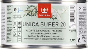 Puidulakk Unica Super, poolmatt