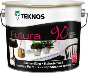 Mööblivärv Teknos Futura 90 0,9 l