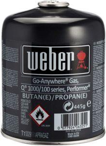 Gaasiballoon Weber ühekordne 445 g