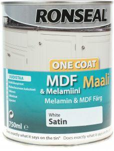 MFD- ja Melamiini värv 750ml Valge