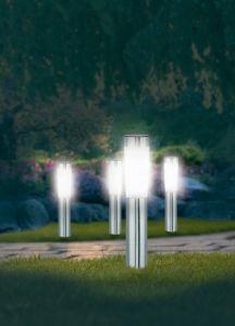 Päikesepatareiga valgustid Big 4 tk /pakk LED