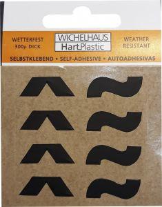 Märgid Wichelhaus HartPlastic must 50 mm