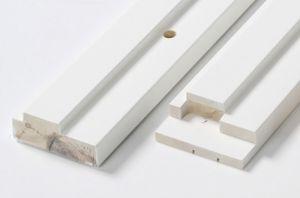 Ukselengide komplekt M8 x 21, puidust, valge 92 mm