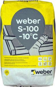 Kuivbetoon Weber S-100 25 kg talvine