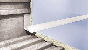 Plaadiliist PVC sisenurk 8 mm