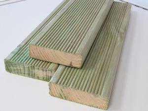 Terrassilaud roheline PHL 28 x 120 x 4200 mm