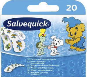 Plaaster Salvequick Bamse