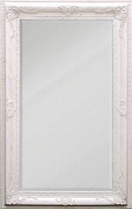 Peegel Palermo antiikvalge 66 x 126 cm