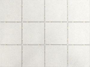 Põrandaplaat Tundra Dot valge 10 x 10 cm