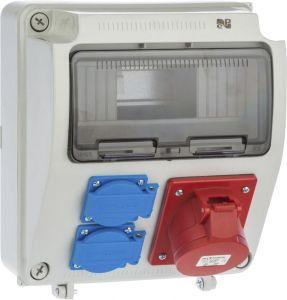 Jõupaneel Elektro-Plast RS92X2P+Z, 3P+N+Z 16 A