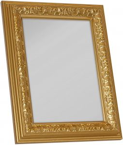 Peegel Nostalgia 30 x 40 cm, kuldne