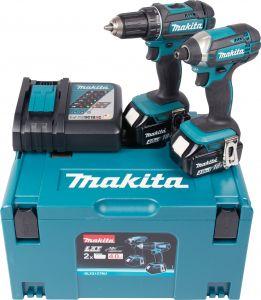 Akutööriistade komplekt Makita Combokit DLX2127MJ 18 V + 2 x 4,0 Ah