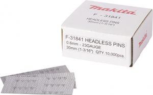 Pin naelad teras 23 Ga, 0,6 x 30 mm, 10000 tk
