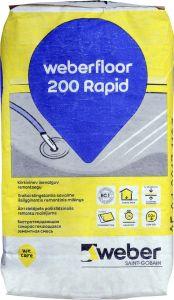 Isetasanduv põrandasegu 200 Rapid 20 kg