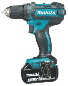 Akutrell Makita DDF482RTJ, 18 V + 2 x 5,0 Ah