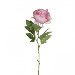 Kunstlill pojengi oks 76 cm, roosa