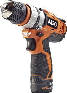 Akutrell AEG BBS12C2LI-202B, 12 V + 2 x 2,0 Ah