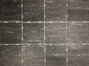 Põrandaplaat Alpstone 10 x 10 cm Hallikasmust