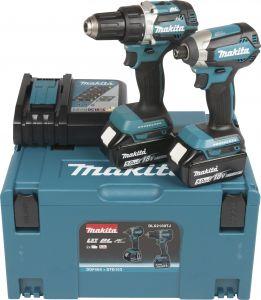 Akutööriistade komplekt Makita Combokit DLX2189TJ, 18 V + 2 x 5 Ah