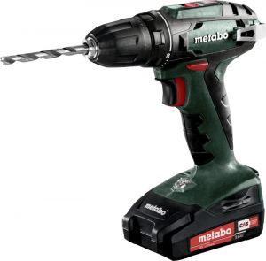 Akutrell Metabo BS 18, 18 V + 2 x 2 Ah