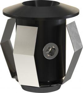 Sauna Cariitti valgustite tarvikute komplekt CR-03, must