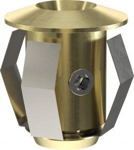 Sauna Cariitti valgustite tarvikute komplekt CR-03, kuldne