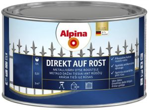 Metallivärv Direkt Auf Rost 300 ml, valge läikiv
